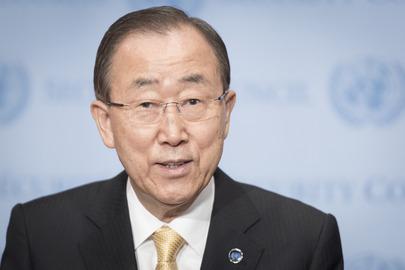 Ban Ki Moon, ONU